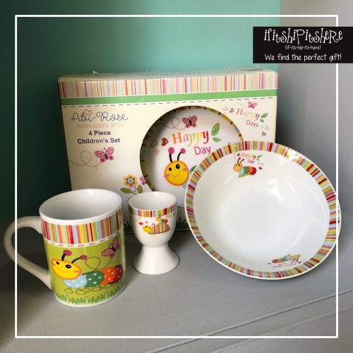 4 PC KIDS CROCKERY SET