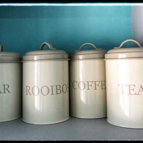 COFFEE/ TEA/ SUGAR CONTAINERS